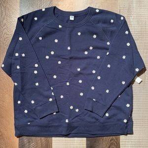 Old Navy Daisy Crewneck Sweatshirt Size XXL